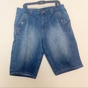 Mens Sean John denim shorts size 34 EUC